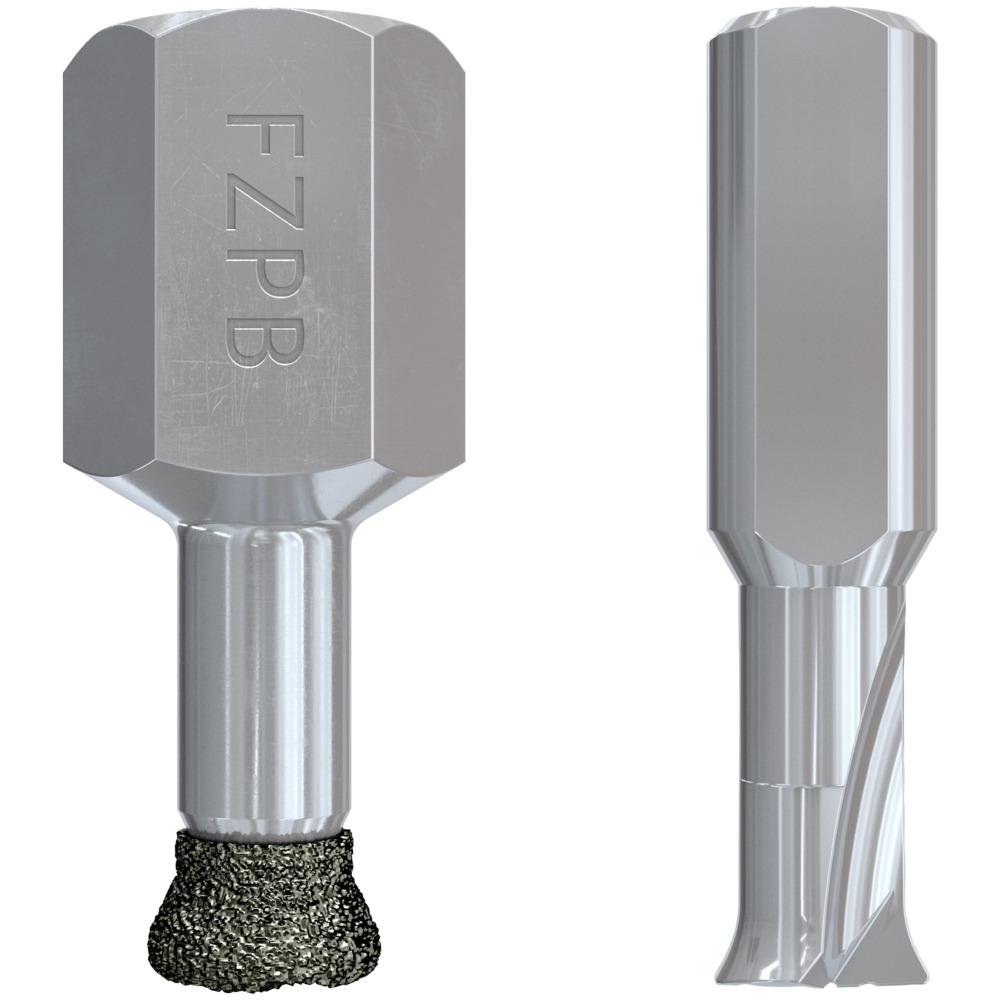 Undercut drill bits