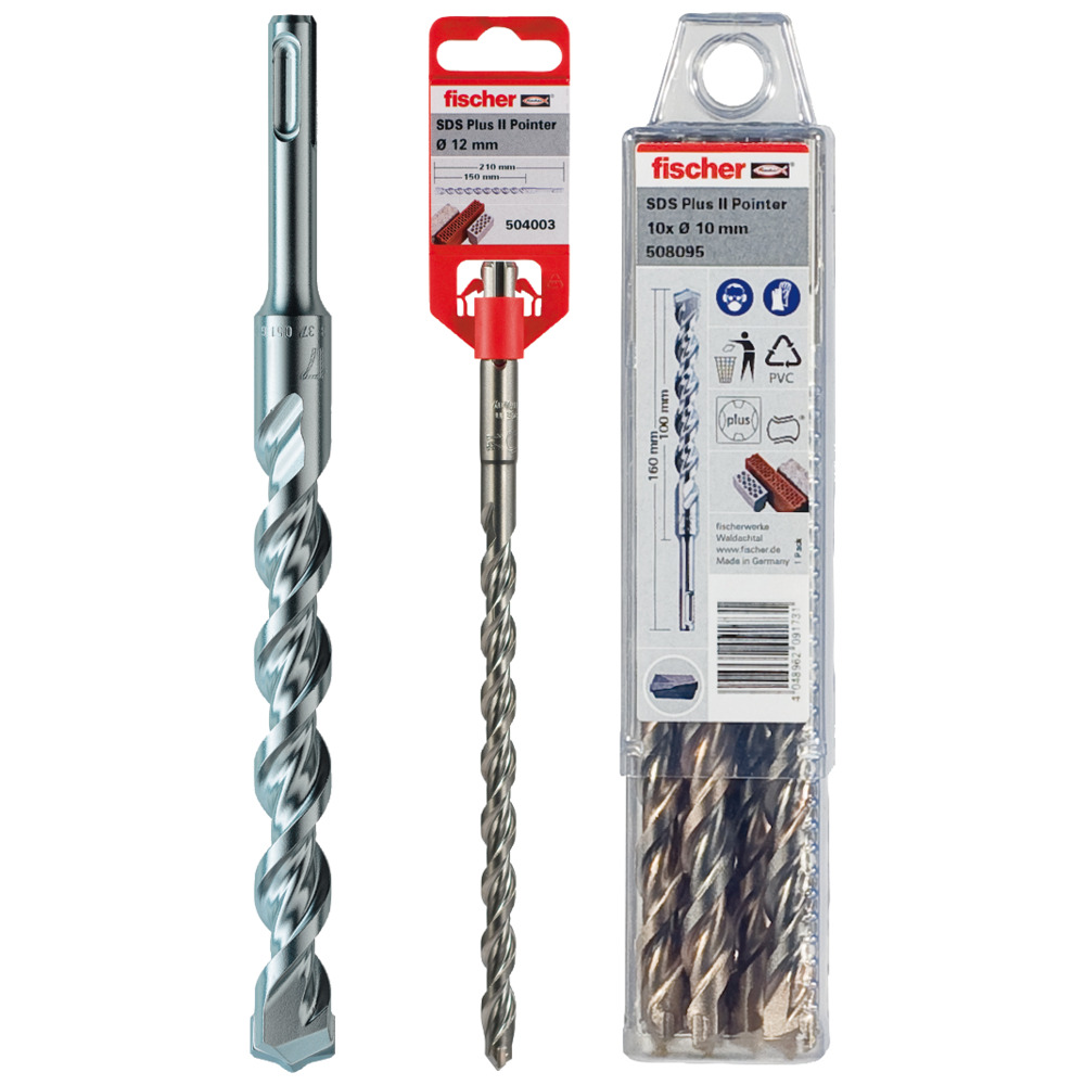 Hammer drill bit SDS Plus II Pointer